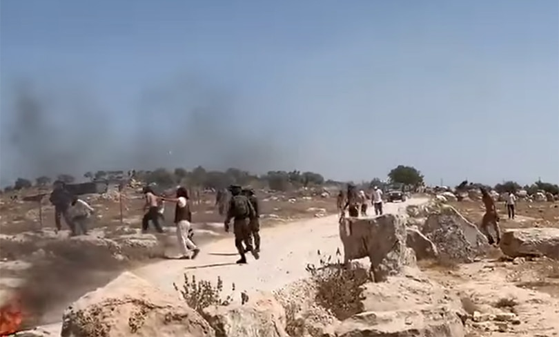 Press Release: NIF Condemns Settler Pogrom, Supports Civil Society